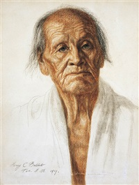indian portrait by henry balink