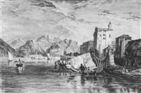 isola bella im lago maggiore by karl august lindemann-frommel