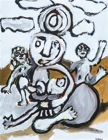 figures by karel appel