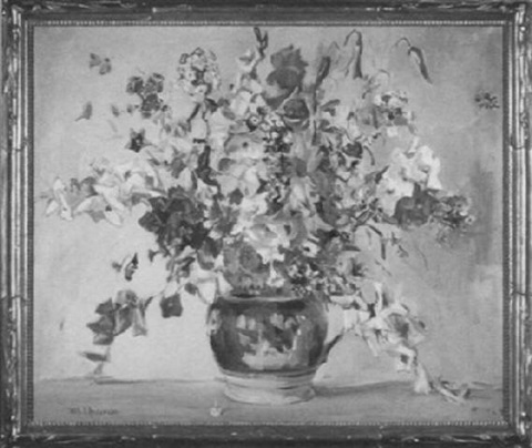 floral still life by ruth a temple anderson