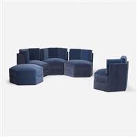 modular sectional by paul evans
