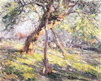 l'arbre étayé by hubert van den bossche
