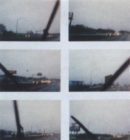rte 95 southbound november 24 1996 by michael ashkin