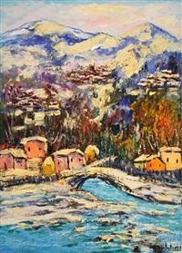 paesaggio molisano invernale by antonio ialenti
