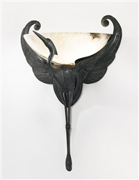 heron wall sconce by albert cheuret