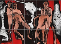 spit naked (in 15 parts) by gilbert and george