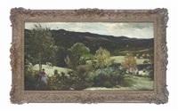 glen ashdale, arran by john robertson reid