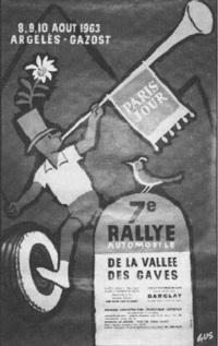 argelès-gazost, 7e rallye de la vallée des gaves by gus (gustave elrich)