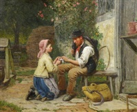 the little nursemaid by james clarke waite