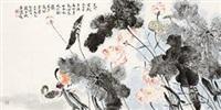 藕花多处浴鸳鸯 by jia guangjian