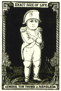 general tom thumb as napoleon by dorrington