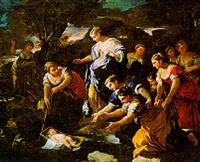 mosè ritrovato sulle acque del nilo by giuseppe simonelli