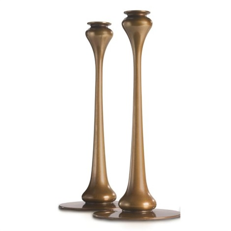 a40a287c3cc Pair of kappa candlesticks by Robert Riddle Jarvie on artnet
