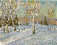 sunny march by nicolas glouchenko
