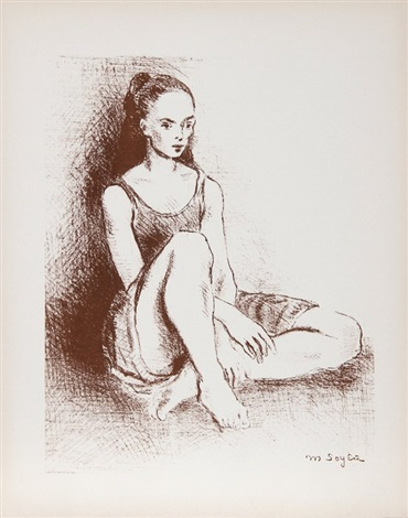 young dancer by moses soyer