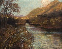 mountain stream by william mitcheson timlin