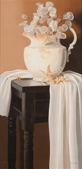 white study with vase by cecile baird