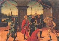 decollazione di una giovane santa by jacopo del sellaio