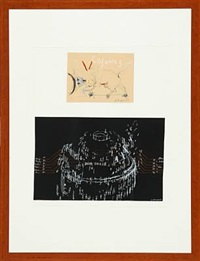 untitled (4 works, various sizes) by jes fomsgaard