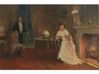 by the fireside by sydney percy kendrick