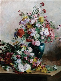 still life of flowers by glosi