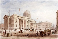 the custom house, liverpool (+ st. george's hall, liverpool; pair) by thomas hosmer shepherd