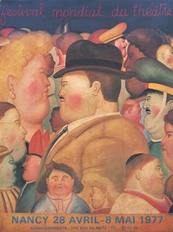 festival mondial du theatre by fernando botero