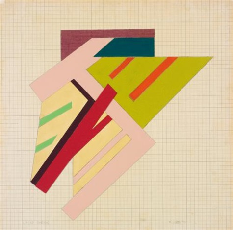 lipsko sketch by frank stella
