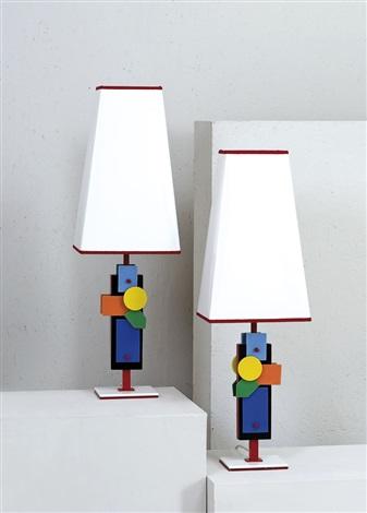 Lampade da tavolo Futurista coppia by Roberto Giulio Rida on artnet