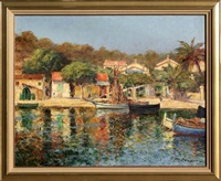 le port by charles cousin