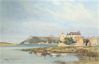 a french harbour entrance by eyres simmons