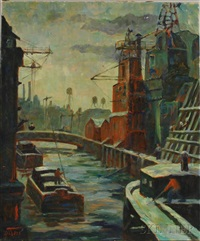 mott haven canal by margaretha e. albers