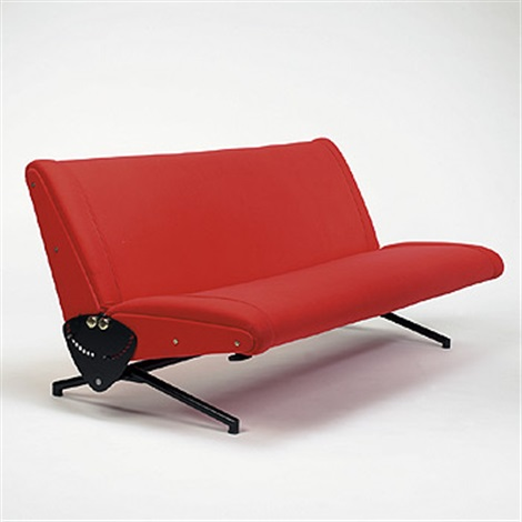 D70 sofa by osvaldo borsani on artnet for Sofa 75 cm tief