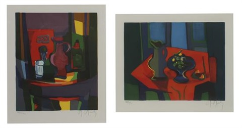commemorative suite together with a boxed presentation book and certificate 4 works by marcel mouly