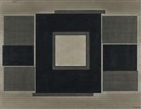 composition avec rectangles et carré by amédée cortier