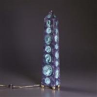 lampada obelisco by piero fornasetti