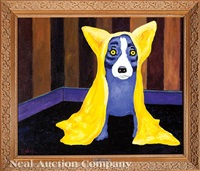 the yellow robe of texas by george rodrigue