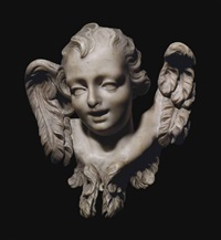head of an angel by gian lorenzo bernini
