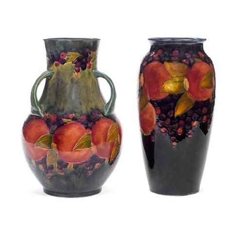 Pomegranate Vase By William Moorcroft On Artnet