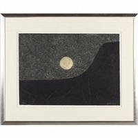 paisaje con luna by rufino tamayo