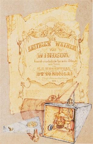 stilleben mit altem plakat by kris hilgendorf