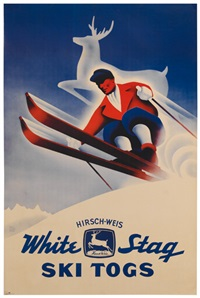 white stag ski togs by phil von phul