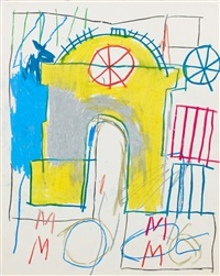 sans titre by jean-michel basquiat