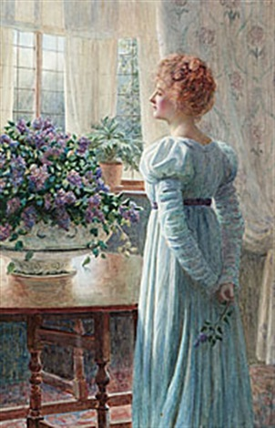the bowl of lilac by william f ashburner