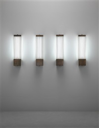 fiocco wall lights (set of 4) by venini co.