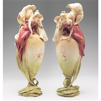 the iris (pair) by amphora werke reissner