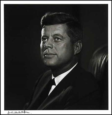 John F Kennedy Dag Hammarskjld 2 Works By Yousuf Karsh