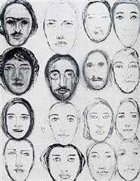visages by hedda sterne