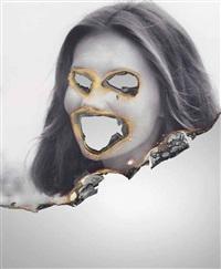 self-portrait of you+me (lois chiles) by douglas gordon