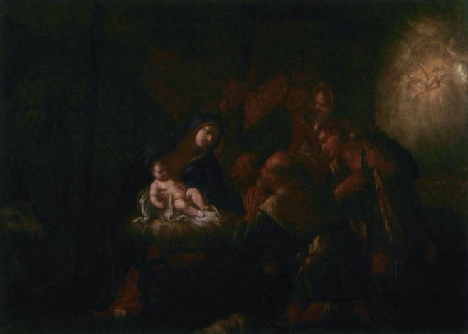 adorazione dei pastori by nicola vaccaro